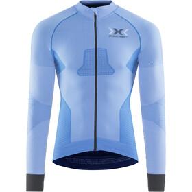X-Bionic Race Evo maglietta a maniche lunghe Uomo grigio/blu